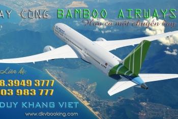 BAMBOO AIRWAYS CẢM HỨNG VIỆT NAM TRÊN NHỮNG HÀNH TRÌNH!