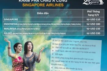 KHÁM PHÁ CHÂU Á CÙNG SINGAPORE AIRLINES