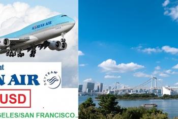 KOREAN AIR KHUYẾN MẠI ĐI MỸ, CANADA (LOS ANGELES, SAN FRANCISCO, NEW YORK, SEATLLE, CHICAGO, VANCOUVER ..)