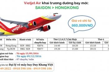 Viejet Air khai trương đường bay mới SAIGON - HONGKONG