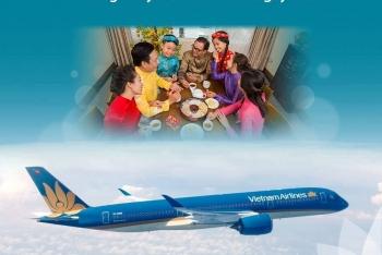 VIETNAM AIRLINES TĂNG CHUYẾN BAY PHỤC VỤ TẾT MẬU TUẤT 2018: TĂNG CHẤT LƯỢNG - TĂNG SỰ HÀI LÒNG